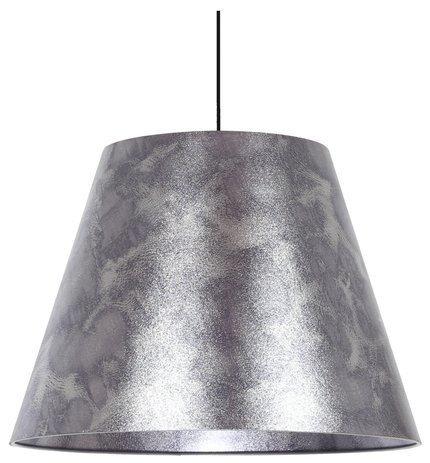 Lampa sufitowa wisząca 1X60W E27 srebrny PLATINO 31-38326