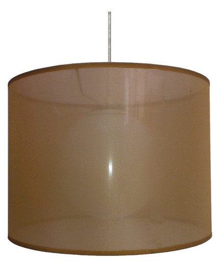 Lampa sufitowa wisząca 1X60W E27 złoty CHICAGO 31-24893