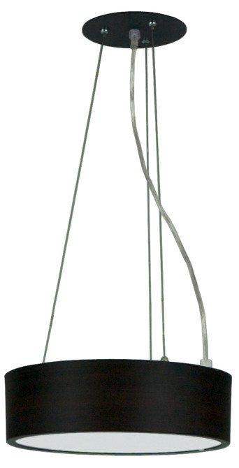 Lampa wisząca LED zimny 16W 6500K plafon wenge Zigo 31-39521