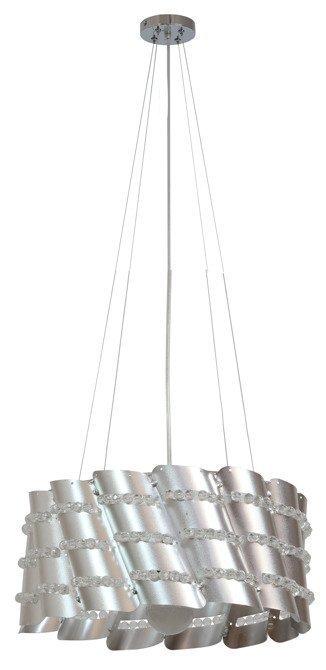 Lampa wisząca metalowy abażur z koralikami 60W Smile Candellux 31-40633