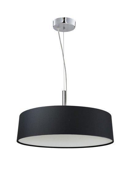 Lampa wisząca okrągła czarna regulowana 3x60W Blum Candellux 31-47311