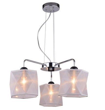 Lampa wisząca sufitowa chromowa regulowana 3x40W Nosja Candellux 33-58720
