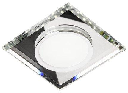 Oprawa stropowa oczko Candellux SSP-22 CH/TR+WH 8W LED 230V RING LED BIAŁY