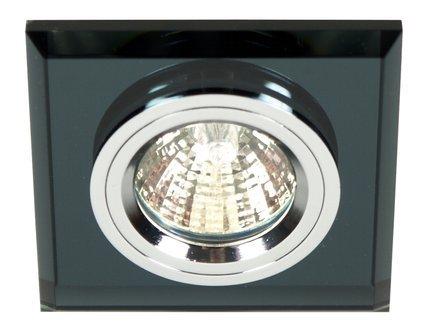 Oprawa stropowa szklana kwadratowa oczko czarne SS-13 Candellux 2231627