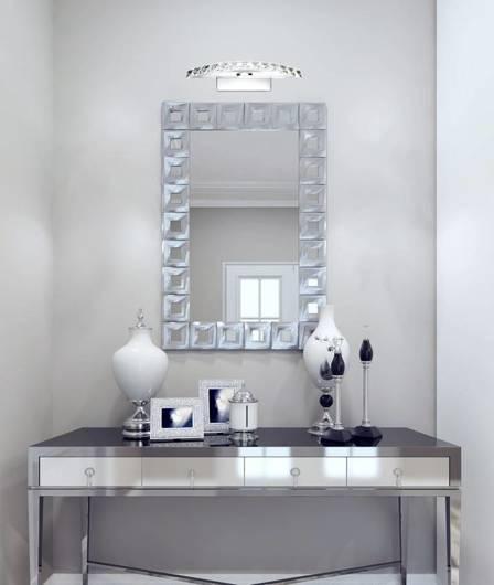 Kinkiet łazienkowy chrom z kryształami LED 8W Arande Candellux 20-32683