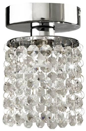 Kinkiet spot chromowy z kryształkami 40W Royal 91-27965