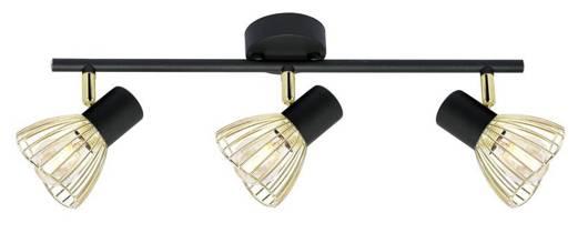 LAMPA ŚCIENNA  CANDELLUX FLY 93-61928 LISTWA  E14 CZARNY/ZŁOTY