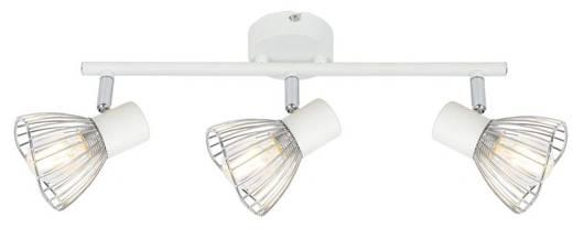 LAMPA ŚCIENNA  CANDELLUX FLY 93-61973 LISTWA  E14 BIAŁY/CHROM