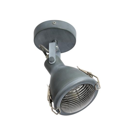 LAMPA ŚCIENNA KINKIET CANDELLUX CRODO 91-71101  E14 SZARY