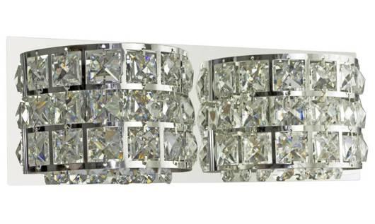 LAMPA ŚCIENNA KINKIET CANDELLUX SATURN 22-87235   G9 CHROM