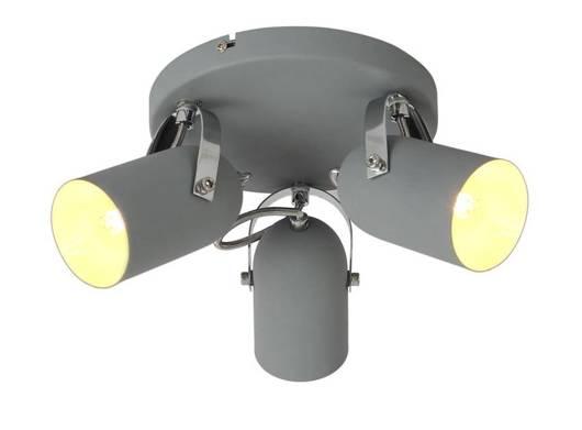 LAMPA SUFITOWA  CANDELLUX GRAY 98-66503 PLAFON  E14 SZARY