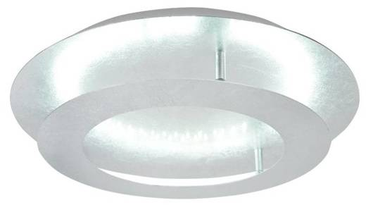 LAMPA SUFITOWA  CANDELLUX MERLE 98-66206 PLAFON  24W LED 3000K SREBRNY