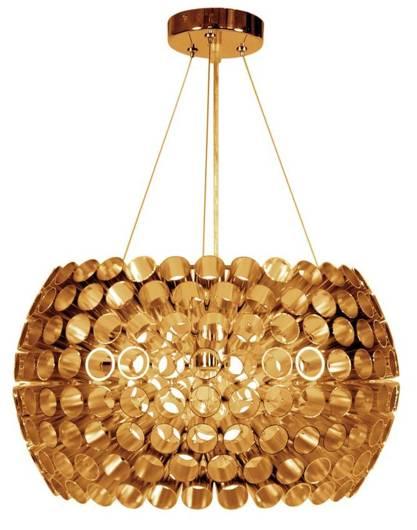 LAMPA SUFITOWA WISZĄCA CANDELLUX ABROS 31-09067   E27 MIEDZIANY