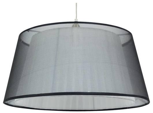 LAMPA SUFITOWA WISZĄCA CANDELLUX CHARLIE 31-24824   E27 CZARNY