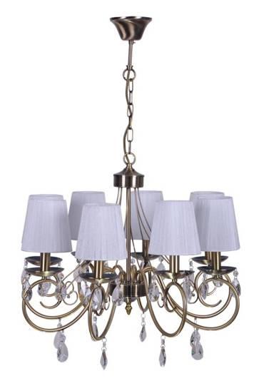 LAMPA SUFITOWA WISZĄCA CANDELLUX DYNASTY 38-09111  E14 PATYNA