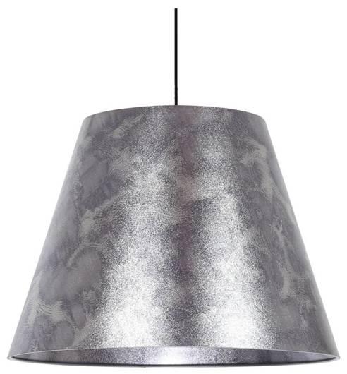 LAMPA SUFITOWA WISZĄCA CANDELLUX PLATINO 31-38326    E27 SREBRNY