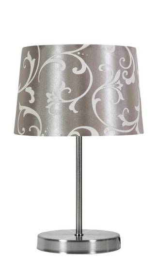 Lampa Stołowa Candellux Arosa 41-55880 E14 Szary