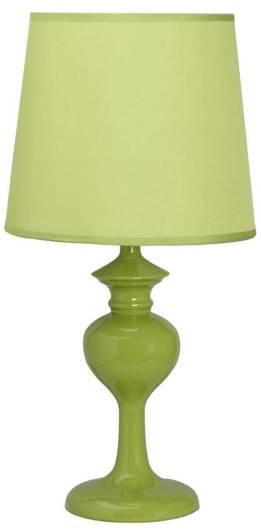 Lampa Stołowa Candellux Berkane 41-11725 E14 Zielona