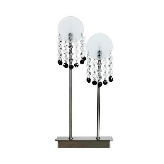 Lampa Stołowa Candellux Luxor 42-02801 G4 Nikiel Mat
