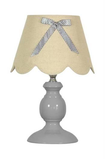 Lampa Stołowa Candellux Whilma 41-64127 E14 Szary