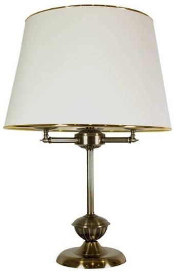 Lampa Stołowa Gabinetowa Candellux Grand 41-99436 E14 Patyna