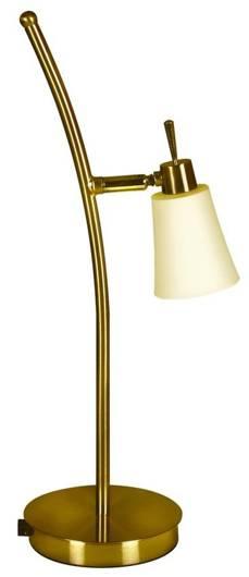 Lampa Stołowa Gabinetowa Candellux Kroton 33-88942 G9 Patyna