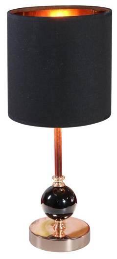 Lampa Stołowa Gabinetowa Candellux Melba 41-38791 E14 Czarny