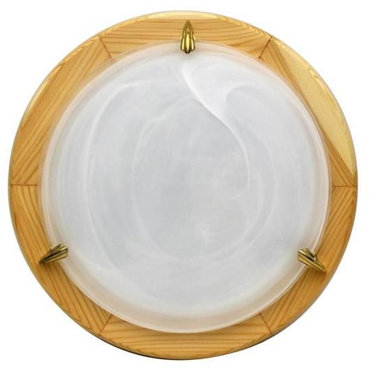 Lampa Sufitowa Candellux Duna 14-64106 Plafon Sosna Alabaster