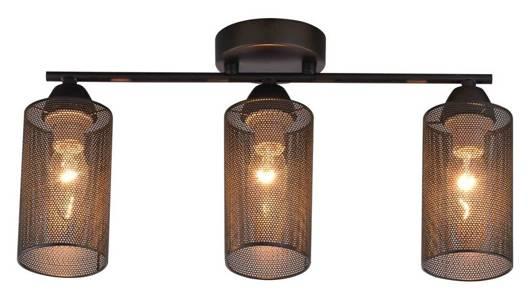 Lampa Sufitowa Candellux Indira 33-58621 Listwa E14 Czarny
