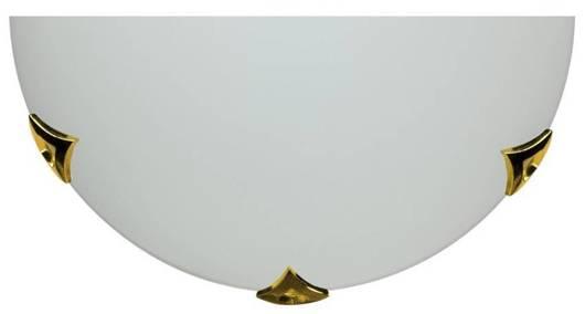 Lampa Sufitowa Candellux Sara 11-53742 Plafon1/2 Mosiadz/Satyna