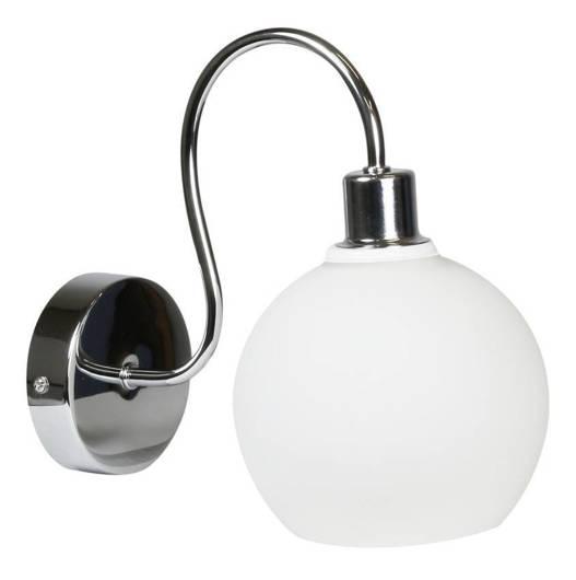 Lampa ścienna kinkiet 1X40W E14 chrom NELDA 21-72559