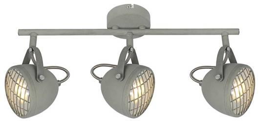 Lampa ścienna listwa 3X50W GU10 betonowy szary PENT 93-68064