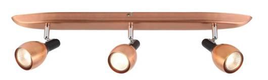 Lampa ścienna listwa 3X50W GU10 miedziany CROSS 93-32782