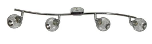 Lampa ścienna listwa 4X40W G9 chrom NOVEL 94-06981