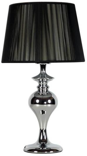 Lampa stołowa gabinetowa 1X60W E27 czarna GILLENIA 41-21413