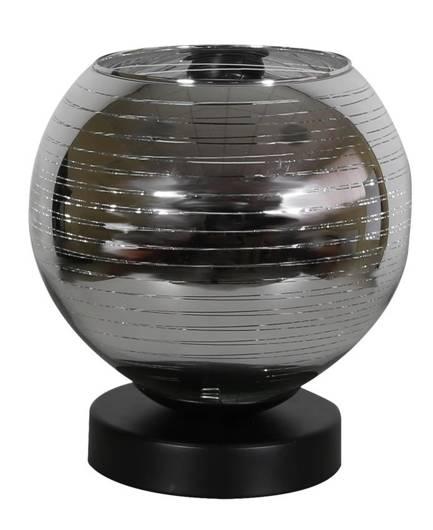 Lampa stołowa gabinetowa nocna chrom Trio E27 Candellux 41-62864