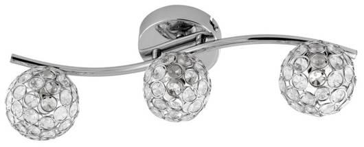 Lampa sufitowa listwa 3X40W G9 chrom STARLET 93-85934