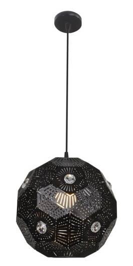 Lampa sufitowa wisząca 1X40W E27 czarny EUPHORIA 31-69764