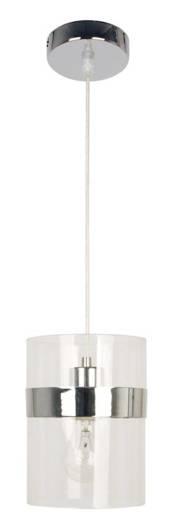 Lampa sufitowa wisząca 1X60W E27 chrom BRANDO 31-28044