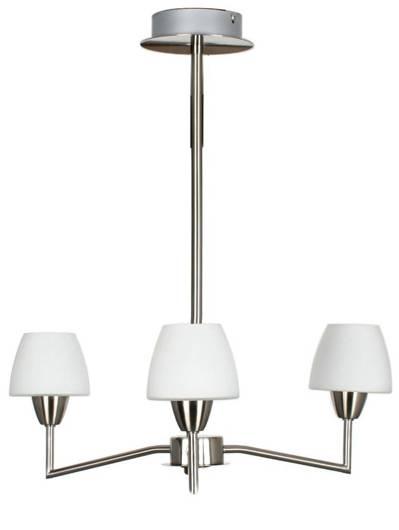 Lampa wisząca sufitowa 3X40W G9 Nikiel mat TOGO 33-10639