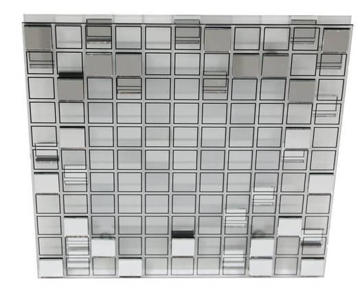 Plafon lustrany kwadrat LED ciepły Mosaic 10-30627