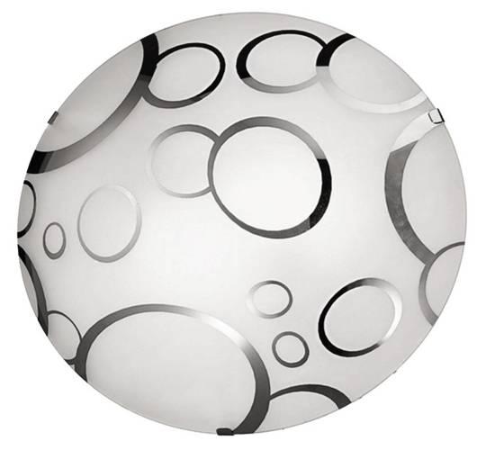 Plafon szklany okrągły lampa 30cm Doka 14-04499